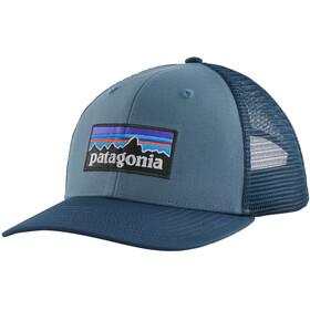Patagonia P-6 Logo Czapka z daszkiem, pigeon blue